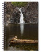 The Shallows Waterfall 2 Spiral Notebook
