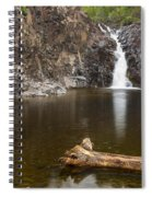 The Shallows Waterfall 3 Spiral Notebook