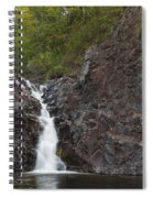 The Shallows Waterfall 4 Spiral Notebook