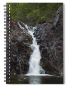The Shallows Waterfall 5 Spiral Notebook