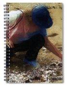 The Shell Seeker Spiral Notebook