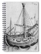 The Ship, C1470 Spiral Notebook