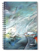 The Shores Of Galilee Spiral Notebook