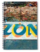 The Sign Of The Ozone Spiral Notebook