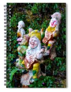 The Singing Gnomes Spiral Notebook