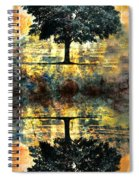 The Small Dreams Of Trees Spiral Notebook