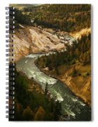 The Snaking Yellowstone Spiral Notebook