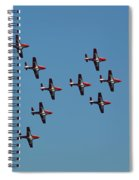 The Snowbirds Spiral Notebook