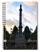 The Soldiers And Sailors Monument In Lafayette Square  Spiral Notebook