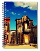 The Sombrero Bank In Old Tuscon Arizona Spiral Notebook