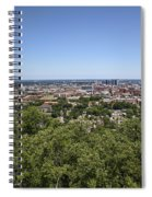 The Southern City Of Birmingham Alabama Spiral Notebook