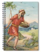 The Sower Spiral Notebook