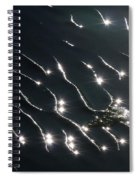 The Sparkling Ripples Spiral Notebook