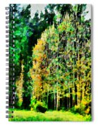 The Speckled Trees Spiral Notebook