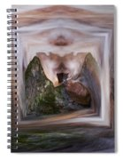 The Spirit Of Four Seasons Spiral Notebook