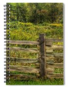 The Split Rail Meadow Spiral Notebook