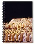 Dramatic Aida Spiral Notebook
