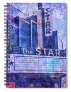The Star Spiral Notebook