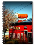 The Steakhouse On Route 66 Spiral Notebook