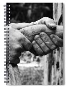 The Stone Mason Spiral Notebook