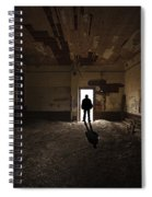 The Stranger Spiral Notebook