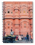 Street Life Of India Spiral Notebook