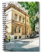 The Streets Of London Spiral Notebook