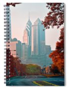 The Streets Of Philadelphia Spiral Notebook