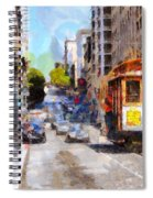 The Streets Of San Francisco . 7d7263 Spiral Notebook