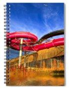 The Sun Centre Spiral Notebook