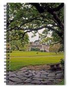 The Sundial Terrace, Glin Castle, Co Spiral Notebook
