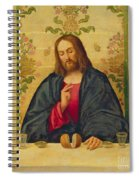 The Supper At Emmaus Spiral Notebook