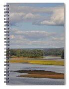 The Susquehanna River At Kingston Pa. Spiral Notebook