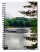 The Swimming Dock Spiral Notebook