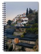 The Terraces Of Amalfi Spiral Notebook