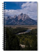 The Tetons - Il Spiral Notebook