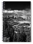 The Tetons Spiral Notebook