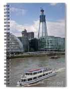 The Thames London Spiral Notebook