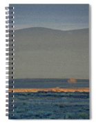 The Thin Orange Line Spiral Notebook