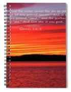 The Third Day Spiral Notebook