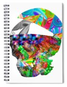 The Thought Escapes Me Spiral Notebook