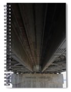 The Three Benicia-martinez Bridges In California - 5d18842 Spiral Notebook