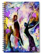 The Three Grace From Spain Spiral Notebook
