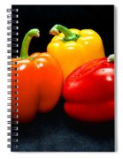 The Three Peppers Spiral Notebook