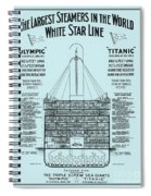 The Titanic Spiral Notebook