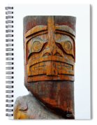 The Totem Canada Spiral Notebook