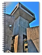 The Tower At The Erie Basin Marina Spiral Notebook