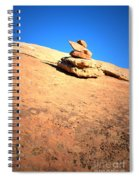 The Trail Marker Spiral Notebook