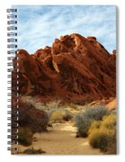 The Trail Through The Valley Spiral Notebook