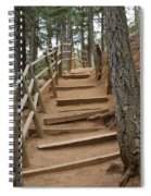 The Trail To The Top Spiral Notebook